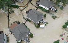Dramatic flood rescues in S.C. after storm cuts off towns