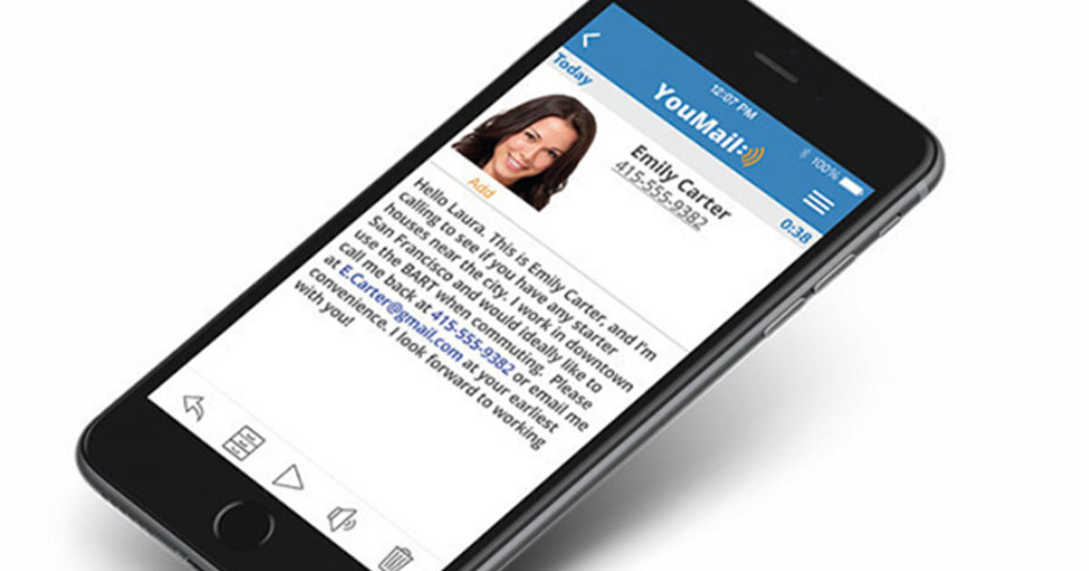 Youmail freshens up an old standby voicemail cbs news m4hsunfo
