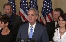 McCarthy bails on House speaker's race amid GOP upheaval