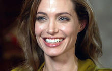 Angelina Jolie talks about her famous face