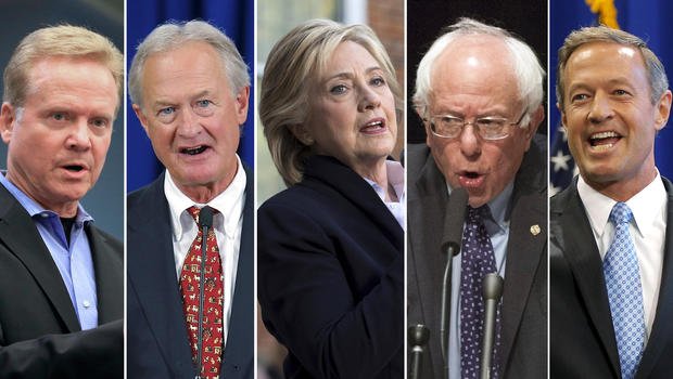 election 2016 what s at stake in the first democratic debate cbs news