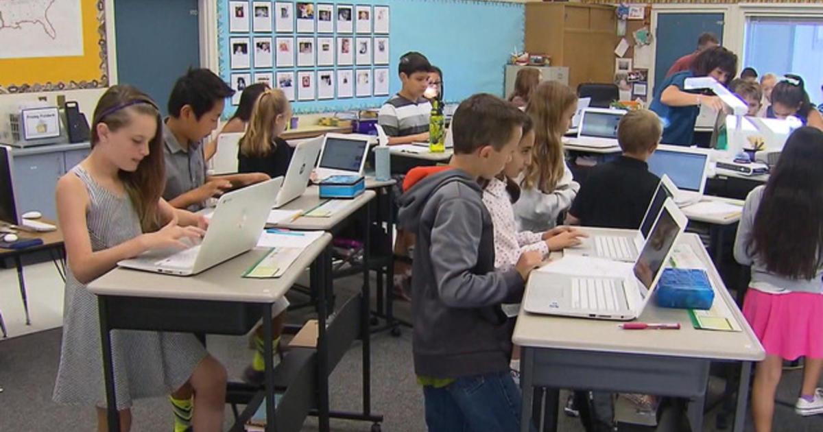California Elementary School Uses Only Standing Desks