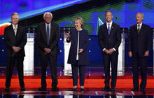 Democrats spar over gun control at first debate
