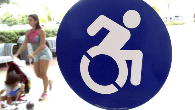 Handicapped Symbol Getting A Makeover And Resistance Cbs News