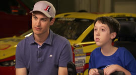 Make-A-Wish's Gavin on NASCAR's Joey Logano
