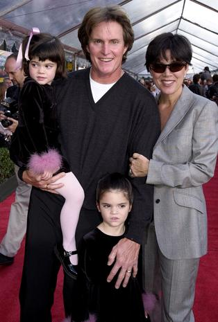 The Jenners in 2000 - The Kardashians then and now