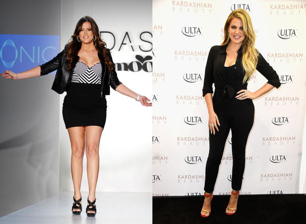 Khloe 2008 2015 The Kardashians Then And Now Pictures Cbs News