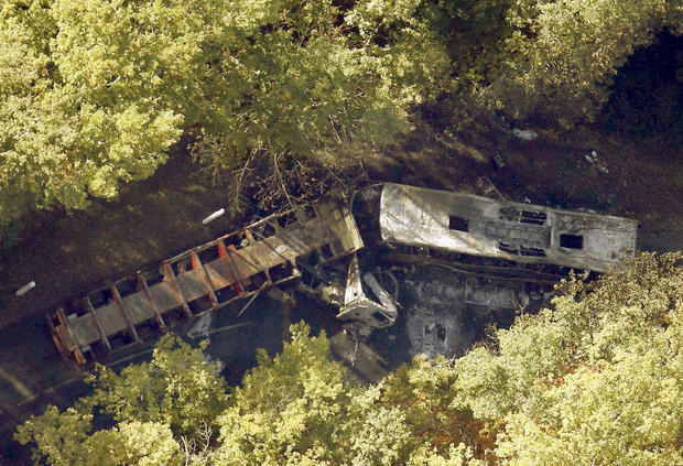 Deadly French bus crash