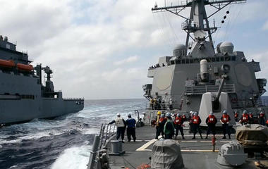 U.S. warship near Chinese islands raises tensions