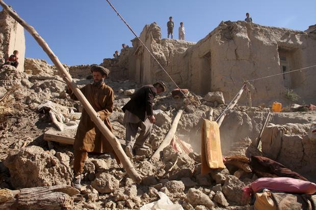 Powerful earthquake strikes Afghanistan