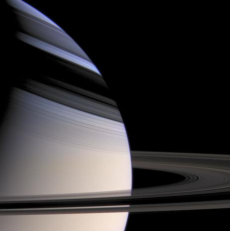Saturn Cassini Captures Saturn And Its Moons Pictures