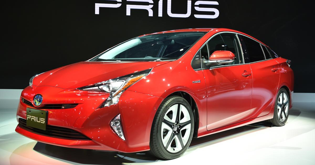 Toyota Hybrid Recall Prius And Other Models Included In Car For Stalling Problems Cbs News