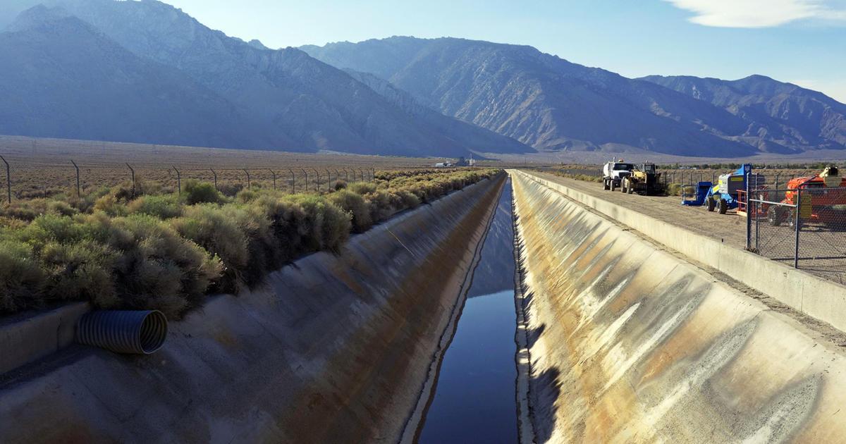 LA Aqueduct flows after controversial dam built for ...