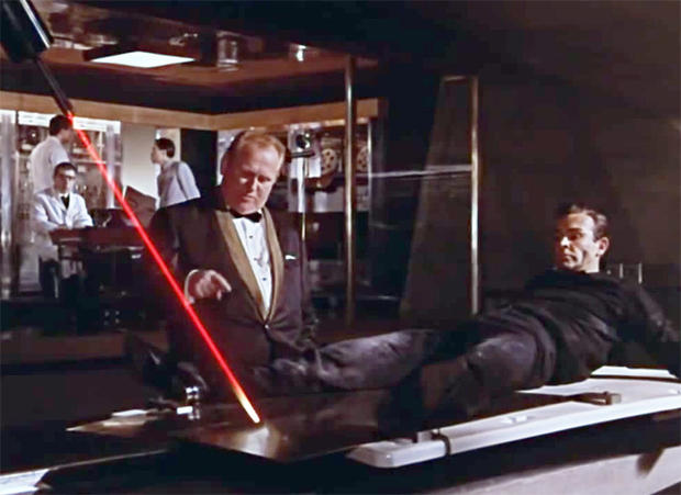 Image result for james bond laser