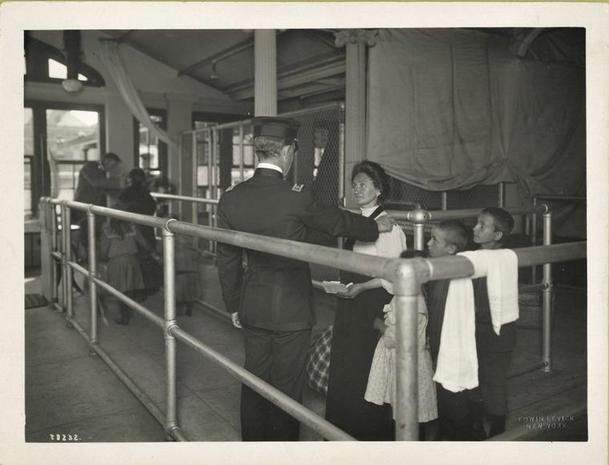 Ellis Island circa 1900