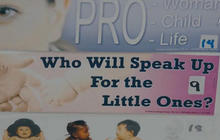 Provocative new question asked in abortion debate