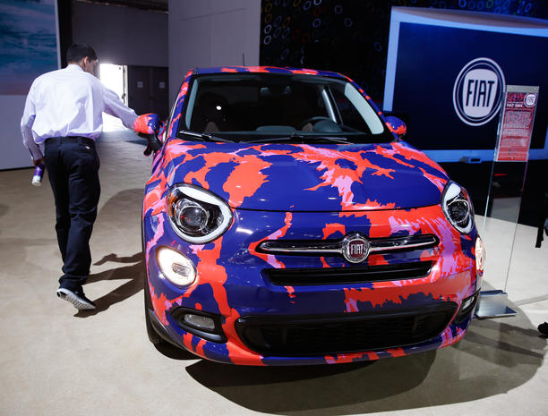 Hot wheels at the 2015 L.A. Auto Show