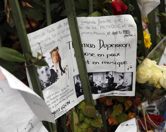 Victims of the Paris attacks