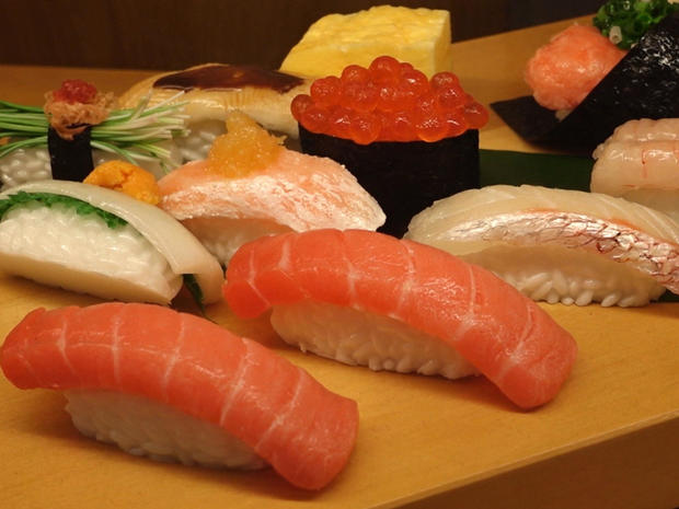 Culinary art: Japan's fascinating plastic food