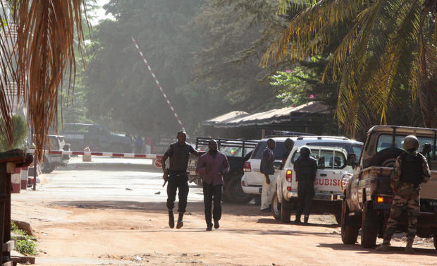 Hostages seized in Mali