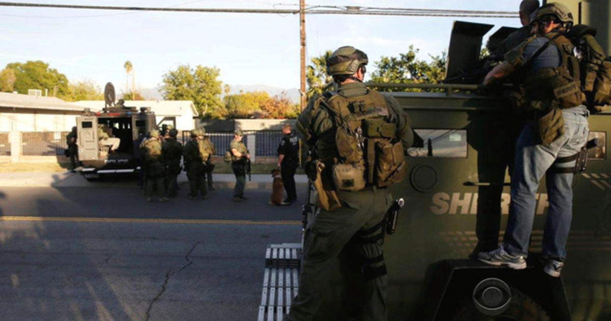 Police scanner details dramatic shootout with San Bernardino