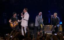 Eagles of Death Metal join U2 in Paris