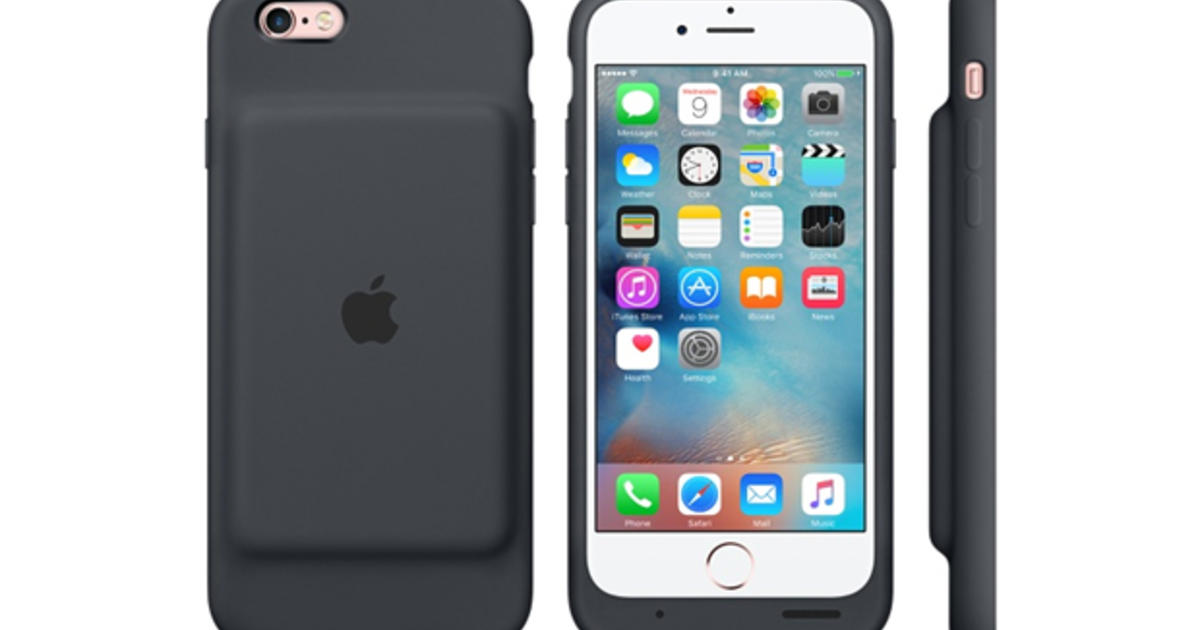 on sale d9b30 84c55 Apple's new iPhone Smart Battery Case for iPhone 6, 6S nearly ...