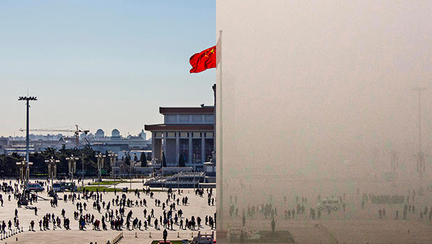 Beijing pollution – through a lens, darkly