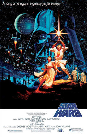 """Star Wars"" art: Movie posters of a galaxy far, far away"