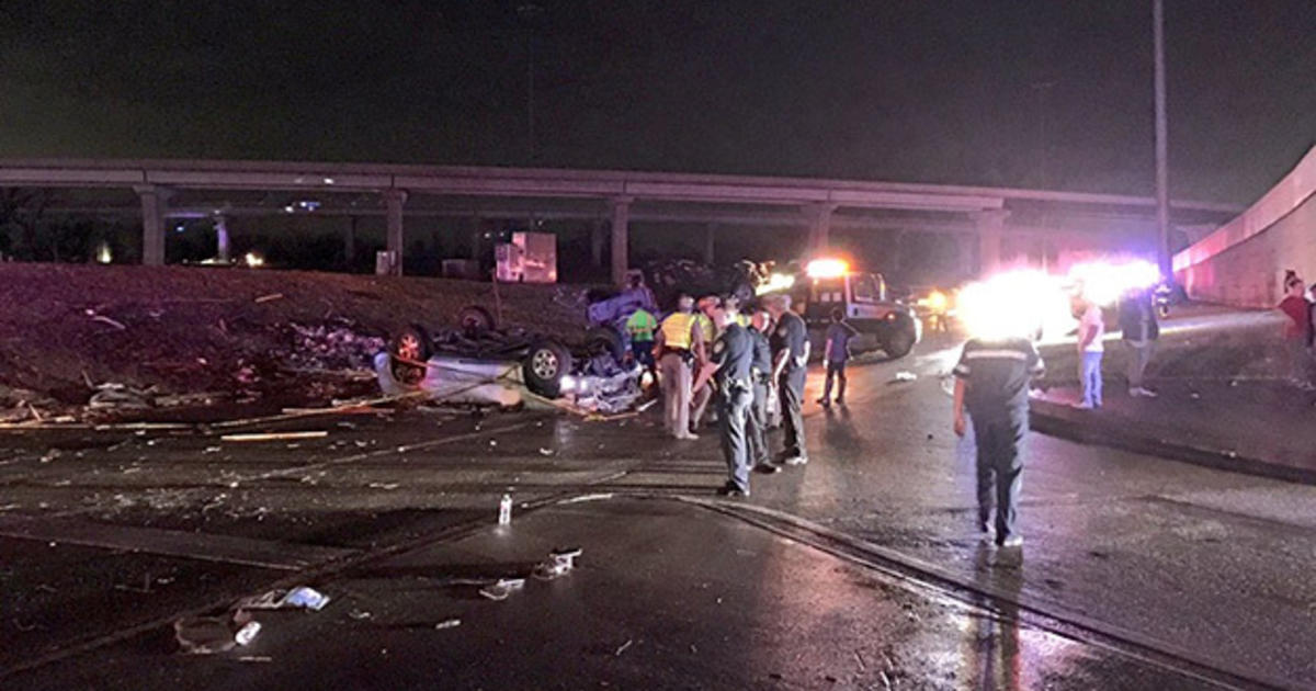 Several killed by swarm of tornadoes in Dallas area - CBS News