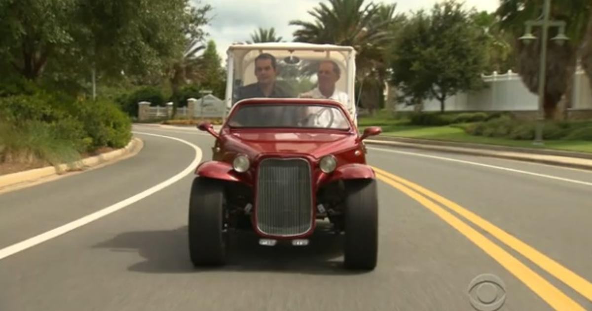 low speed electric vehicles on the fast track among seniors cbs news. Black Bedroom Furniture Sets. Home Design Ideas