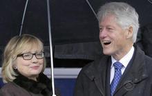 Trump takes aim at both Clintons