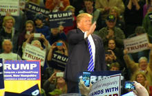 Trump goes after Cruz for Canadian birth