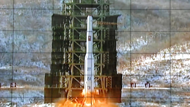 North Korea's long-range rocket launch