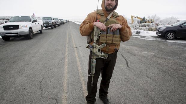 Armed militia takeover in Oregon