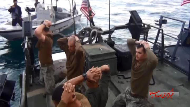 Iran frees U.S. sailors
