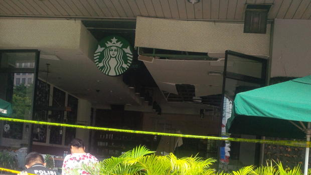 Deadly attacks in Jakarta