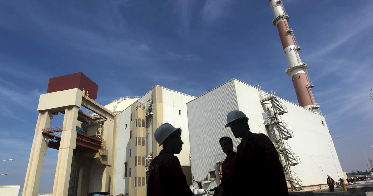 Earthquake strikes near Iranian nuclear plant