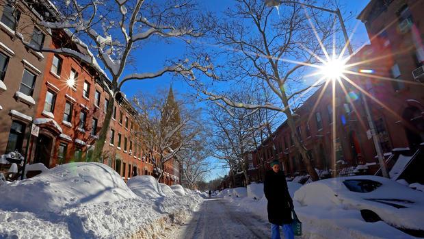 Massive blizzard buries East Coast