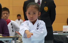 9-year-old karate champ looks sweet, trains tough