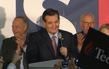 Ted Cruz delivers victory speech in Iowa