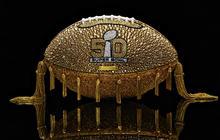 50 glam designer footballs for Super Bowl 50