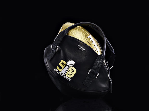 50 glam designer footballs for Super Bowl 50