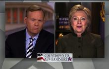 """Hillary Clinton on Wall Street slams: """"I'm not going to sit and take it anymore"""""""
