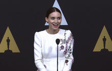 "Rooney Mara discusses Oscar nomination for ""Carol"""