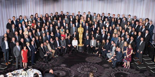 Oscars 2016: Nominees' luncheon