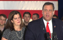 Video: Chris Christie speaks on disappointing N.H. finish