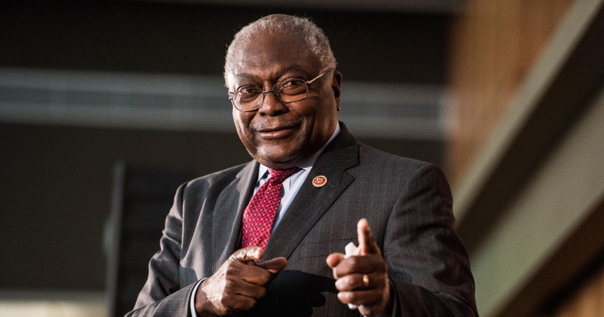 James Clyburn calls impeaching Trump again a waste of time