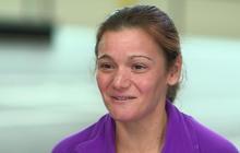 What does marathoner Becca Pizzi's diet look like?