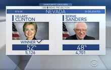 Hillary Clinton projected to win Nevada caucuses